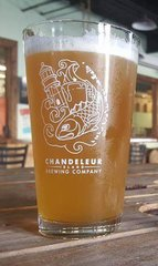 Chandeleur Island Brewing Company Pint Glass