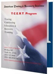 New Home Study Towing Continuing Education and Recovery Training (T.C.E.R.T.) Program DVD Plus 6 workbooks and 6 tests