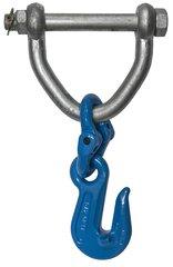 """6"""" Web Shackle w G10 1/2"""" Cradle Grab Hook"""