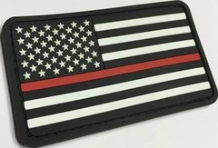 Red Line of Courage Patch