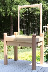 Marleywood Cedar Trellis - 4'long x 4'high