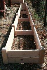 """2'x16' - 11"""" high Cedar Raised Garden Bed by Marleywood"""