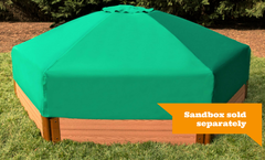 Frame It All 7ft.x8ft.x13.5in. Collapsible Hexagon Sandbox Canopy