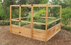 Maine Kitchen Garden - 8'x8' - Deer Proof Raised Bed Garden