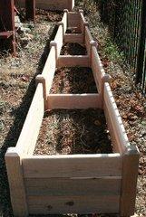 """2'x16' - 16"""" high Cedar Raised Garden Bed by Marleywood"""