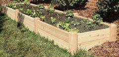 """2'x12' - 11"""" high Cedar Raised Garden Bed by Marleywood"""