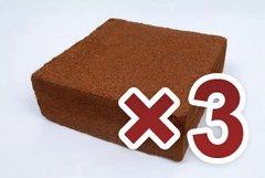 5kg Coir Block (3 Pack)