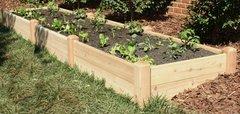 """4'x12' - 11"""" high Cedar Raised Garden Bed by Marleywood"""