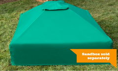Frame It All 4ft.x4ft.x13.5in. Collapsible Square Sandbox Canopy