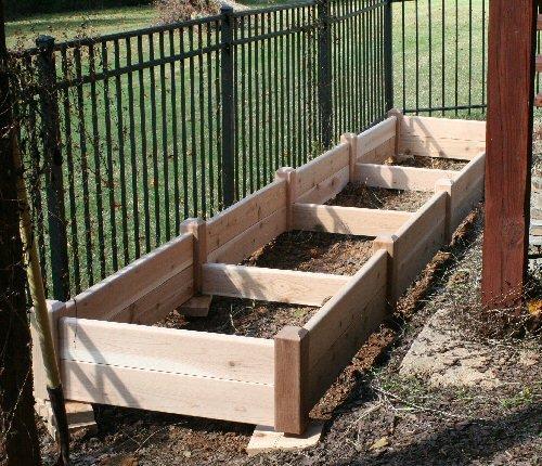 Maine Cedar Raised Beds