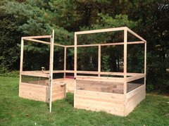 Maine Kitchen Garden - 8'x12' - Deer Proof Raised Bed Garden