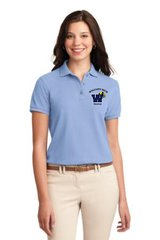 Electrical Ladies Short Sleeve Polo