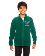 AUTOMOTIVE Team 365 Youth Campus Microfleece Jacket