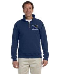 Engineering Technology (CADD) 1/4 Zip Pull Over Sweatshirt