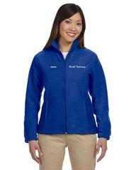 Health Tech Ladies Full Zip Fleece Jacket