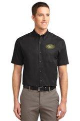 Culinary Men's Short Sleeve Dress Shirt