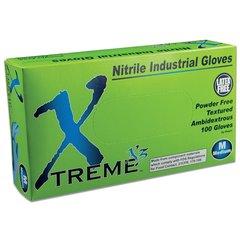 Ammex X34 Xtreme X3 Nitrile Gloves (Case)