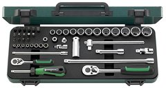 "Stahlwille 96011047 40/45/36/12 - Socket set 1/4""; 3/8"""