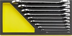 Stahlwille 96830358 Double open ended spanners 10 pcs. in TCS inlay