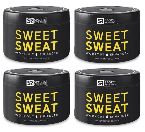 4 Sweet Sweat Jar 6.5oz - 23.50 each