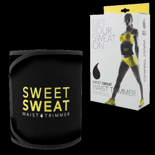 Sweet Sweat Premium Waist Trimmer Abs Men/Women (YELLOW)