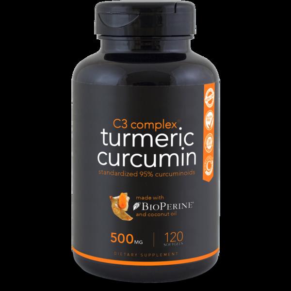 Turmeric Curcumin C3® Complex - 120 softgels