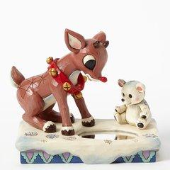 "Jim Shore - Rudolph Traditions - ""Rudolph & Baby Polar Bear"""