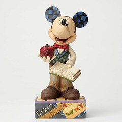 """Jim Shore- Disney Traditions """"Class Act"""" Mickey Mouse"""