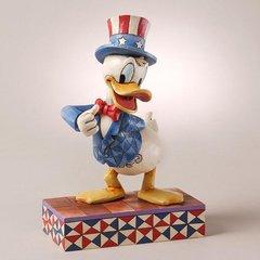 "Jim Shore- Disney Traditions ""Yankee Doodle Duck"" Donald Duck"