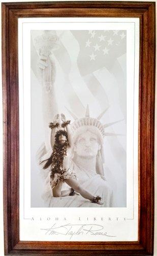 Aloha Liberty Poster