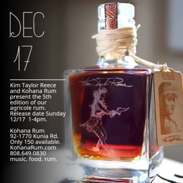 Limited Edition Kim Taylor Reece Select Rum