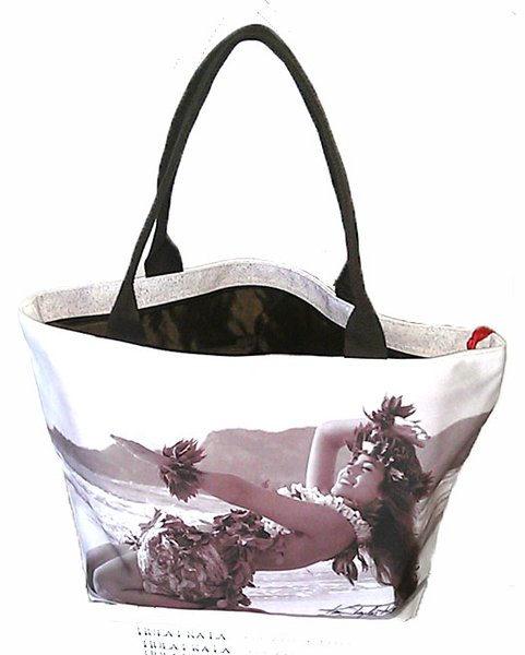 Hula Noho Large Tote Bag