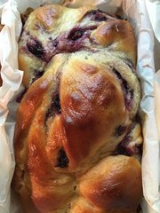 Blackberry Babka