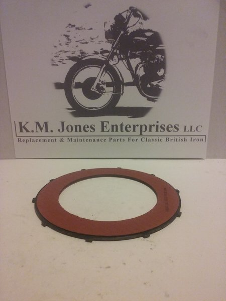 57-4763 / T1362, Clutch Plate, Fiber, Friction, HD, Made in USA.