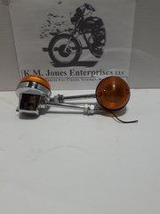 56606 / 60-4104, Flasher Lamp, Pair, Long, USED, EMGO