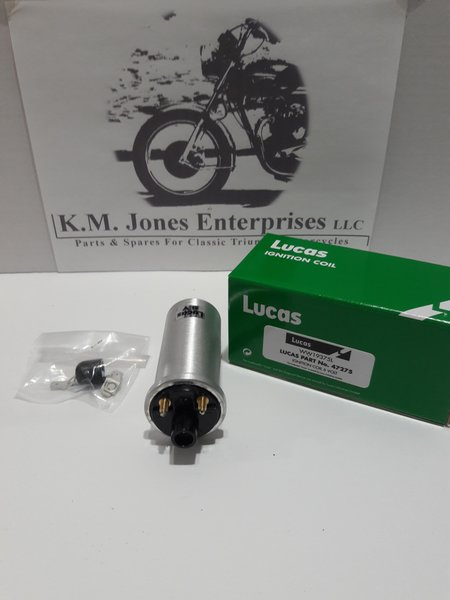 45275 / 60-7131, Ignition Coil, 6v, Genuine Lucas (47275)