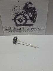 71-3463, Oil Filler Cap w/ Dipstick, Triumph Oil-In-Frame models
