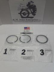 71-3690 / 71-3695, Piston Ring Set, T140/TR7, STD, Made in USA