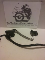 KMJ0005, 1974 Honda CB550 clutch lever/perch, control switches