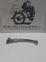 60-3980 / D3980, Brake Lever, Steel, Chrome, Triumph