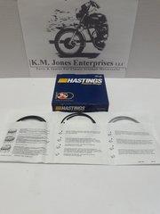 70-6864 / 70-6865, Piston Ring Set, +.020, Hastings, Triumph 650's 1951-73 (E6864&E6865)
