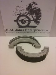 37-3925/6 (W3925), Brake Shoe, Rear, Set, Made in Taiwan (EMGO)