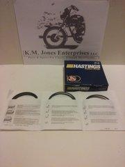 99-3792, Piston Rings, Set, +.040, Hastings, T140/TR7 1973-83