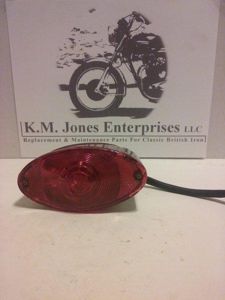 KMJ003, generic rear tail light, cafe racer style