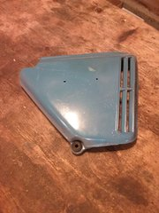 KMJ014, 1975 Honda CB360T Side Cover, Right Side, USED