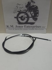 60-0747 / D1807, Air control cable, TR6, 1968-72, Made in UK