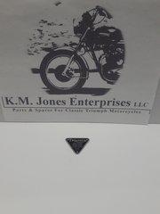 70-4016 / E4016, Patent Plate, Triumph 500, 650 & 750.