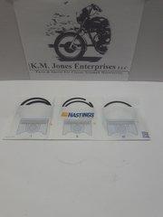 71-3690 / 71-3695, Piston Ring Set, STD, Hastings, Triumph T140/TR7