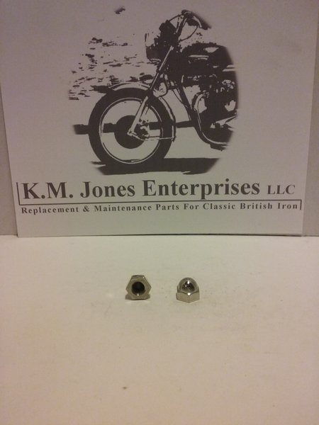 21-0550, Nut, Domed, Stainless, 3/8UNF