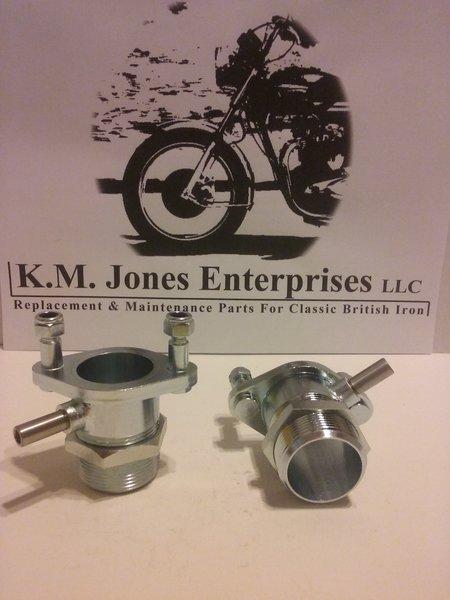 70-9550 / 70-9551 (E9551/E9550), Carburetor adapter/Manifold SET, 1969-72